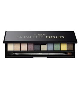 L'Oreal La Eyeshadow Palette / Gold -